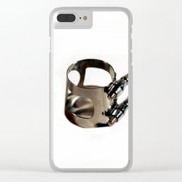 Ligature Clear iPhone Case