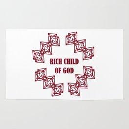 Rich Child of God (Prosperity) - Rasha Stokes Rug