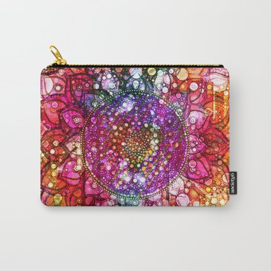 Distressed Mandala  Carry-All Pouch