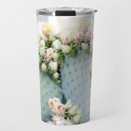 Cactus Blooms Travel Mug