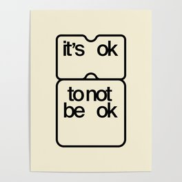 it's ok to not be ok Poster