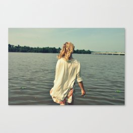 YOU ARE THE BLOOD IN MY VEINS Canvas Print