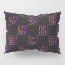 Halloween Patchwork Weave Pillow Sham