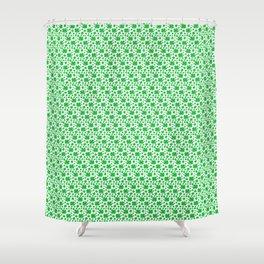 Four-leaf clovers Shower Curtain