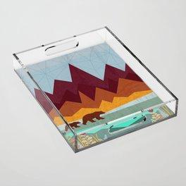 Peak Acrylic Tray