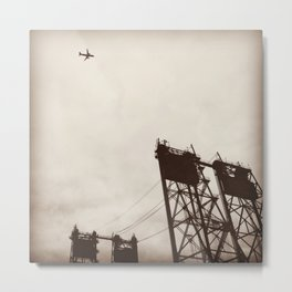 Interstate Bridge in Vancouver, WA Metal Print