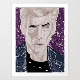 galactic rock star, color Art Print
