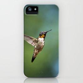 Flying Hummingbird iPhone Case