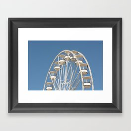 High In The Blue Sky 2 Framed Art Print
