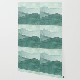 Green Mountain Range Wallpaper