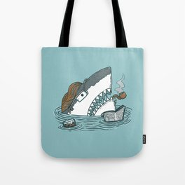 The Dad Shark Tote Bag