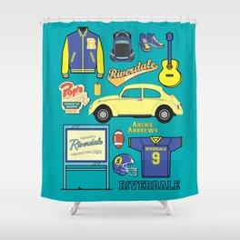 Archie Andrews Riverdale set Shower Curtain