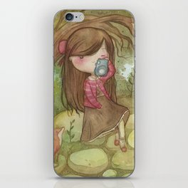 Nemophilist iPhone Skin