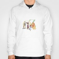 oz Hoodies featuring OZ by Little Moon Dance
