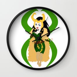In Sheep's Clothing Wall Clock