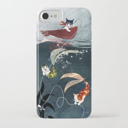 Catfish & Purrmaids iPhone Case