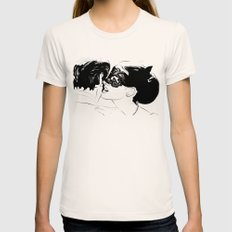 Whispers Womens Fitted Tee Natural MEDIUM
