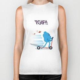 Blueman - TGIF! Biker Tank
