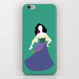 Esmeralda from The Hunchback of Notre-Dame iPhone Skin