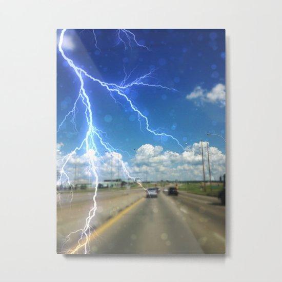 Awwww.....Summer storms!!! Metal Print