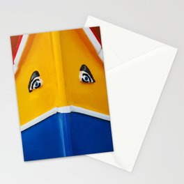 Maltese Boat - Luzzu Colours  Stationery Cards