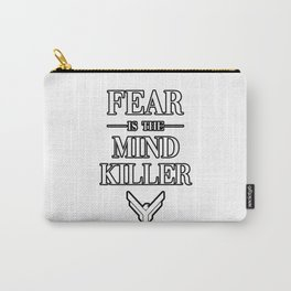 Fear is the Mind Killer Dune 2020 Quote Carry-All Pouch