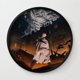 Attack on titan, Levi Ackerman, Aot Poster, Hoodie Wall Clock
