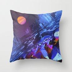 Mineralia Throw Pillow