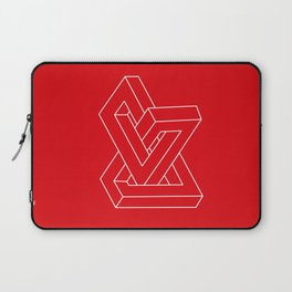 Optical illusion - Impossible figure Laptop Sleeve