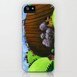Hilly Humbly iPhone Case