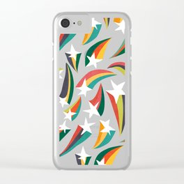 Shooting star Clear iPhone Case