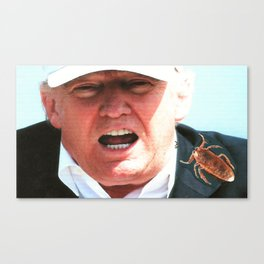Rudy Rocha Endorses Trump! Canvas Print