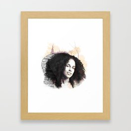 Alicia Framed Art Print