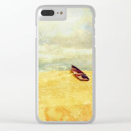 High and Dry Clear iPhone Case