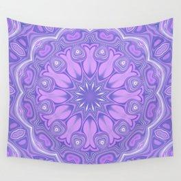 Purple Kaleidoscope Wall Tapestry