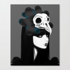 dark bird (lady bird) Canvas Print
