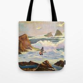 S l a s h  in the ocean Tote Bag