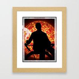 Mass Effect - The Illusive Man Renegade Poster Framed Art Print