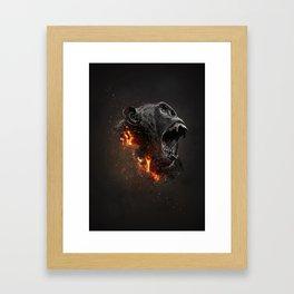 XTINCT x Monkey Framed Art Print
