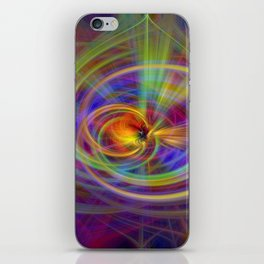 Salve twirls iPhone Skin