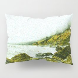Ruby Beach Pillow Sham
