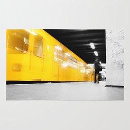 U-Bahn Berlin Selective Colour Rug