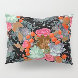 Succulent Bouquet // Galaxy Pillow Sham