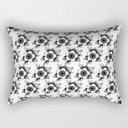 trad flower Rectangular Pillow