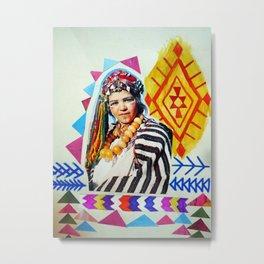 Berber Woman  Metal Print