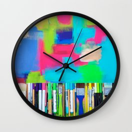 Real Weapons Of Mass Creation Wall Clock