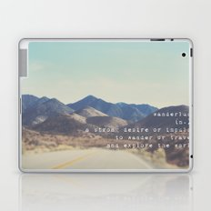 wanderlust ... Laptop & iPad Skin