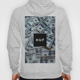 HUF casth money dollar dolar new art 2018 swag hot cover case skin iphone Hoody