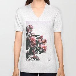 Hibiscus Unisex V-Neck