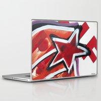 grafitti Laptop & iPad Skins featuring Grafitti Star by Leslie Philipp